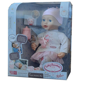 Zapf Creation Baby Annabell Sweet Dreams Mia 43cm Puppe Spielpuppe