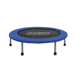 Alert Sport Fitness Trampolin 96 cm Schwarz / Blau Outdoor Kindertrampolin