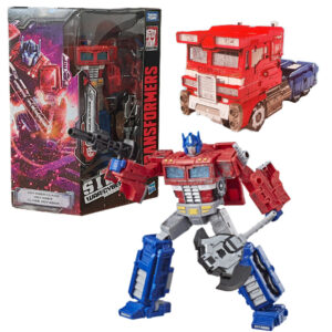 Hasbro E3541 Transformers Generations War for Cybertron Voyager WFC-S11 Optimus Prime