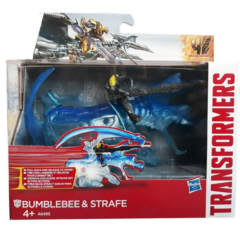 Hasbro Transformers Movie 4 Sparkers - Bumblebee & Strafe Actionfigur